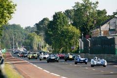 Voiture de sport, chemin 24h classique du Mans Photo libre de droits