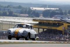Voiture de sport, chemin 24h classique du Mans Photographie stock