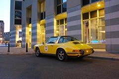 Voiture de sport classique, Porsche 911 Targa Images libres de droits