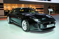 Voiture de sport convertible de type e de Jaguar Photographie stock libre de droits