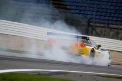 Voiture de sport, Corvette Z06 (la FIA GT) Image libre de droits
