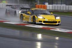 Voiture de sport, Corvette Z06 (la FIA GT) Images libres de droits
