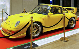Voiture de sport de clubsport de rs de Porsche 993 Photographie stock libre de droits