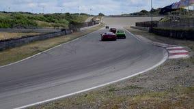 Voiture de sport de Ferrari 458 Italie banque de vidéos