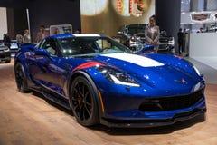 Voiture de sport de Grand-sport de Chevrolet Corvette Image libre de droits