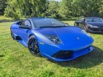 Voiture de sport de Lamborghini Murcielago LP 640 Image libre de droits
