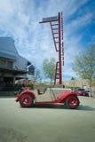 Voiture de sport de Le Mans 2-Seater de chanteur 1934 Images libres de droits