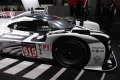 Voiture de sport de Porsche 919 Photos libres de droits