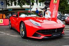 Voiture de sport Ferrari F12berlinetta (depuis 2012) Image stock