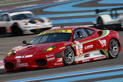 Voiture de sport, Ferrari F430 GT (LMS) Photo stock