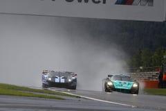 Voiture de sport, Ford GT Matech, Maserati MC12 Photos libres de droits