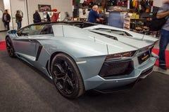 Voiture de sport Lamborghini Aventador LP 700-4, 2014 Images stock