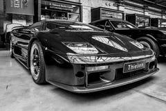 Voiture de sport Lamborghini Diablo GT, 2001 Images stock