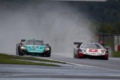 Voiture de sport, Maserati MC12, Lamborghini Photo stock