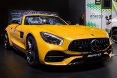 Voiture de sport de Mercedes AMG SLS GT Photographie stock libre de droits