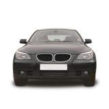 Voiture de sport noire de BMW Images libres de droits