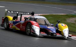 Voiture de sport, Peugeot 908 HDi-FAP (LMS) Photos stock