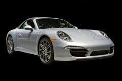 Voiture de sport, Porsche, salon de l'Auto de Detroit Image libre de droits