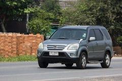 Voiture de Suv de ville de Honda CRV de voiture privée image libre de droits