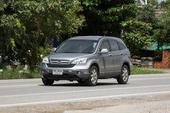 Voiture de Suv de ville de Honda CRV de voiture privée image stock