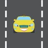 Voiture de taxi Image stock