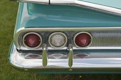 Voiture de turquoise de vintage Image libre de droits