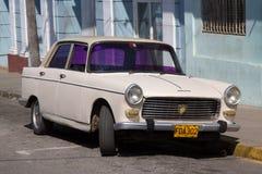 Voiture de vintage à La Havane Photo stock