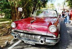 Voiture de vintage au Cuba Images stock