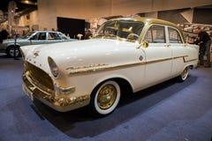 Voiture 1956 de vintage d'Opel Kapitan Image libre de droits