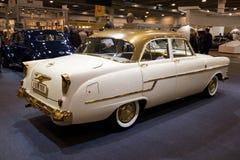 Voiture 1956 de vintage d'Opel Kapitan Photographie stock libre de droits