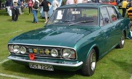Voiture de vintage de classique de Ford Cortina Mk 2 Photos stock