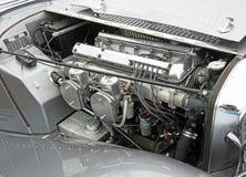 Voiture de vintage de Jaguar solides solubles 100 Image libre de droits
