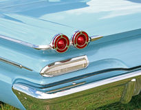 Voiture de vintage de Pontiac Bonneville Photo stock