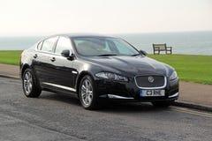 Voiture de xf de Jaguar Image libre de droits