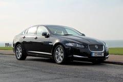 Voiture de xf de Jaguar Photos stock