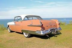 Voiture en chef de classique de vintage d'étoile de Pontiac Photos libres de droits