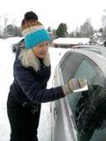 Voiture en hiver Images stock