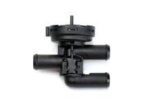 Voiture en plastique d'appareil de chauffage de robinet Photographie stock