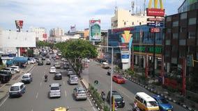 Voiture et ville Photographie stock libre de droits