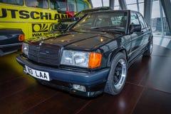 Voiture exécutive compacte Mercedes-Benz 190E 2 3 AMG (W201), 1984 Image libre de droits
