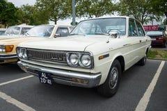 Voiture exécutive Datsun 2400 six superbes (Nissan Cedric 130) photo stock