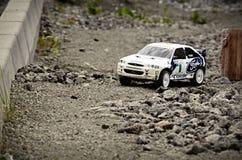 Voiture Ford Escort de rassemblement de Rc Image stock