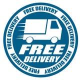Voiture gratuite d'expédition de la livraison Image libre de droits