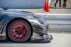Voiture GTR d'attaque de temps de Nissan Photo libre de droits