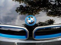 Voiture i1 électrique faite par BMW Image stock