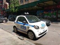 Voiture intelligente de NYPD, NYC, NY, Etats-Unis Photos stock