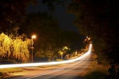 Voiture légère de route Photos stock