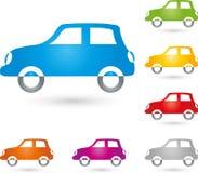 Voiture, logo de voiture et de voiture de sport photos stock