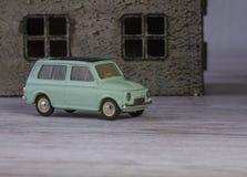Voiture modèle classique Renault en métal de 60s Photographie stock