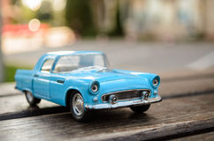 Voiture modèle de jouet Photographie stock libre de droits